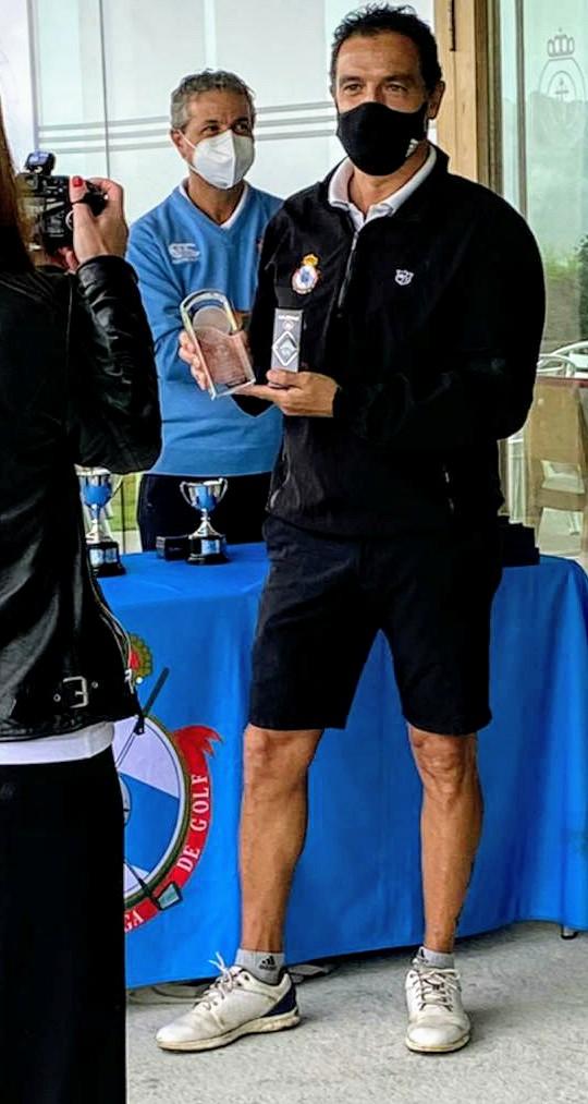 Manuel Martínez Castro campeón gallego 2º categoría